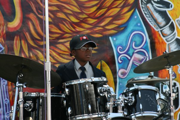 HAKIM ON THE DRUMS